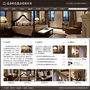 布艺家纺公司网站 - 金康云企业自主建站