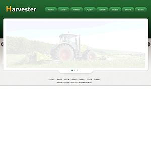 农业机械网站(宽屏) - 金康云企业自主建站