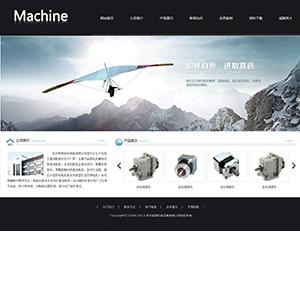 机电公司网站(宽屏) - 金康云企业自主建站