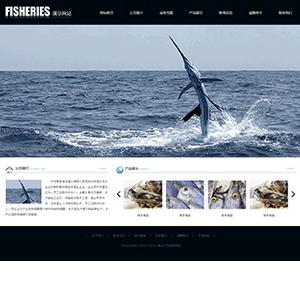 渔业公司网站(全屏) - 金康云企业自主建站
