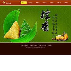 端午节粽子网站 - 金康云企业自主建站