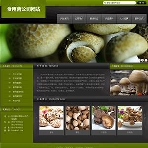 食用菌公司网站 - 金康云企业自主建站