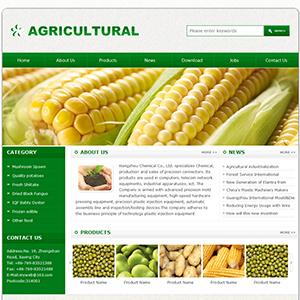 农业公司网站(英文) - 金康云企业自主建站