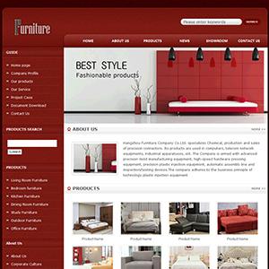 家具公司网站(英文) - 金康云企业自主建站