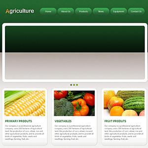 农业网站(英文) - 金康云企业自主建站