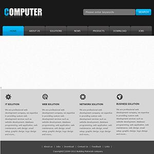 软件企业网站(英文) - 金康云企业自主建站